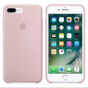 Sand Pink Silicone Case for iPhone 7+ / 8+